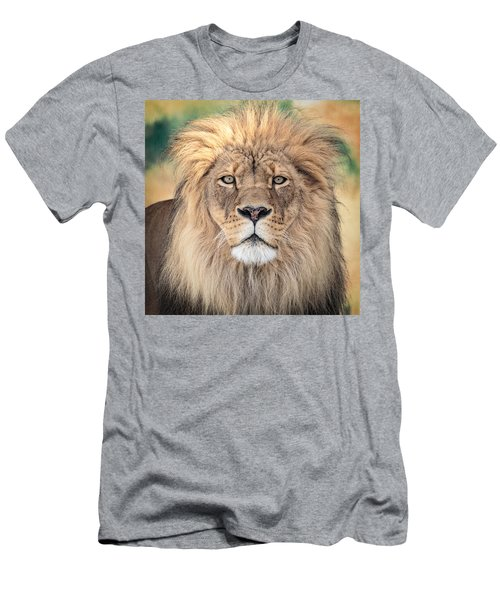 Majestic King Men's T-Shirt (Slim Fit) by Everet Regal