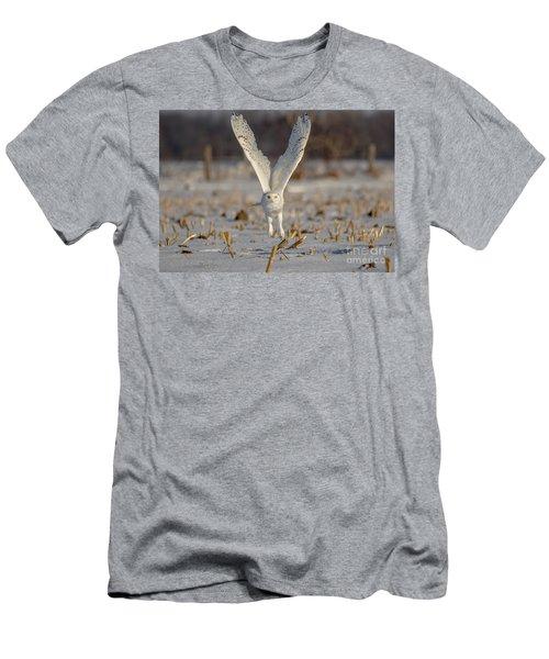 Majestic Snowy Men's T-Shirt (Athletic Fit)