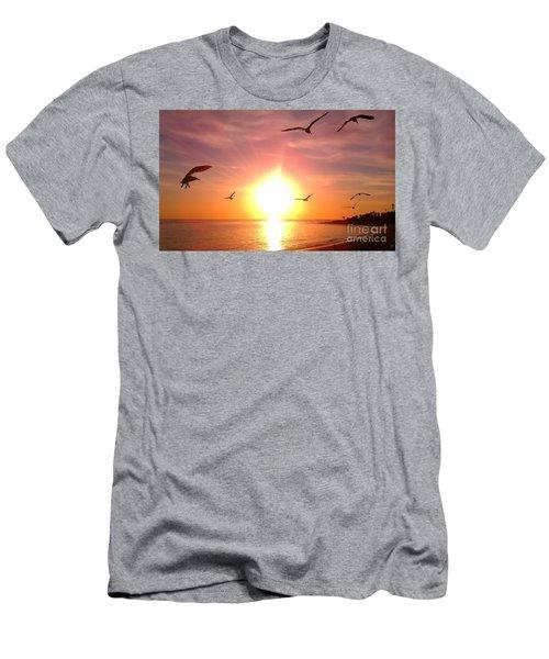 Malibu Paradise Men's T-Shirt (Athletic Fit)