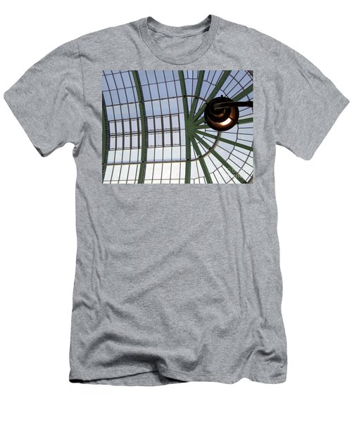 Men's T-Shirt (Slim Fit) featuring the photograph Mall Of Emirates Skylight by Andrea Anderegg