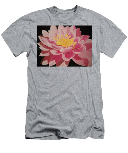 Mama's Lovely Lotus Men's T-Shirt (Athletic Fit)