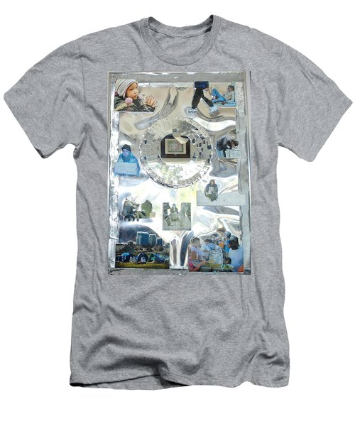 Man In The Mirror Men's T-Shirt (Athletic Fit)