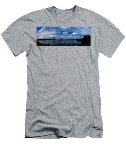 Manasquan Reservoir Panorama Men's T-Shirt (Athletic Fit)