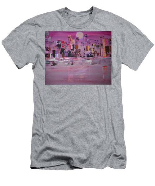Manhattan Moonshine Men's T-Shirt (Athletic Fit)