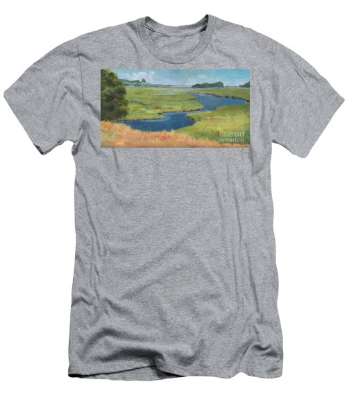 Marshes At High Tide Men's T-Shirt (Athletic Fit)