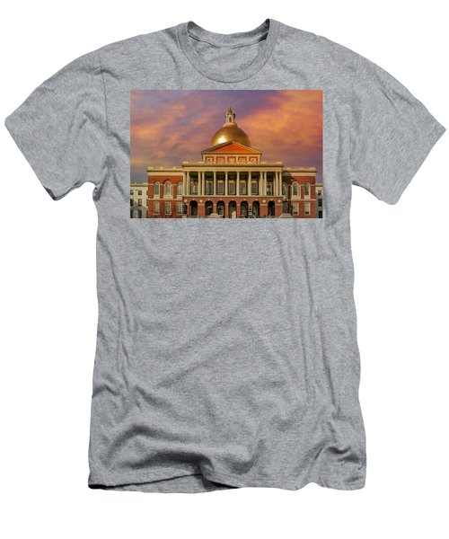 Massachusetts State House Men's T-Shirt (Athletic Fit)