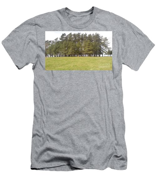May Hill Tree Tops Men's T-Shirt (Slim Fit) by John Williams