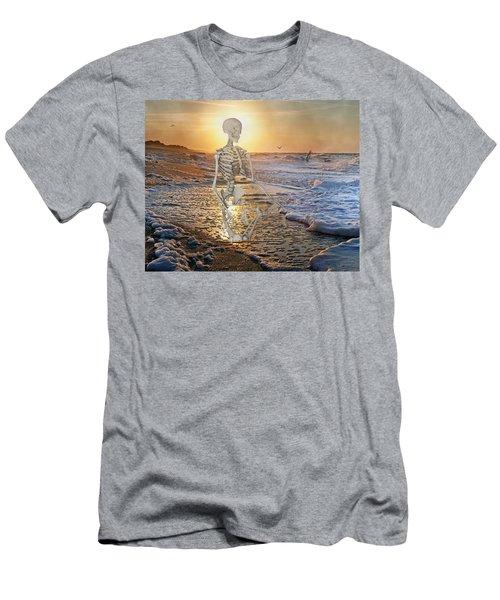 Meditative Morning Men's T-Shirt (Athletic Fit)