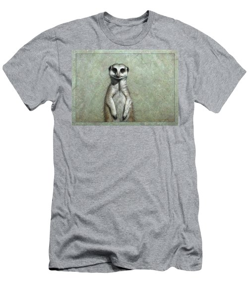 Meerkat Men's T-Shirt (Slim Fit) by James W Johnson
