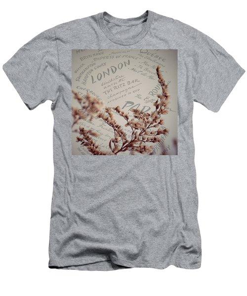 Meet Me In Paris Men's T-Shirt (Athletic Fit)