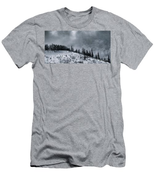 Melancholia Pines And Trees Men's T-Shirt (Athletic Fit)