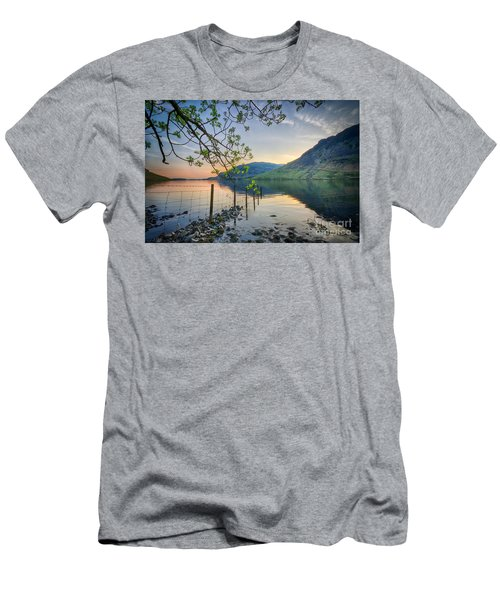 Melancholy Of Sunset Men's T-Shirt (Athletic Fit)