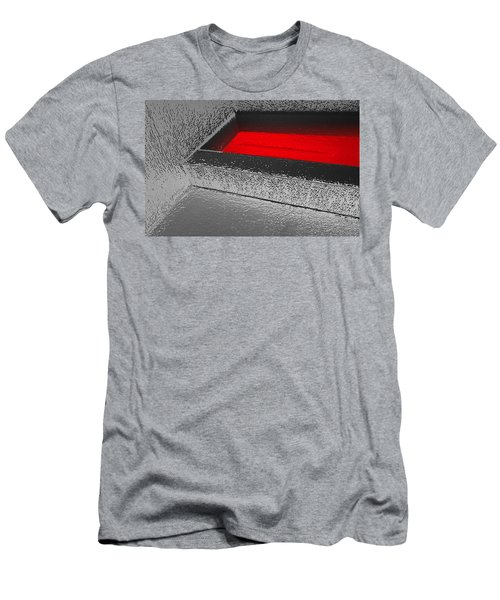 Melting Men's T-Shirt (Athletic Fit)