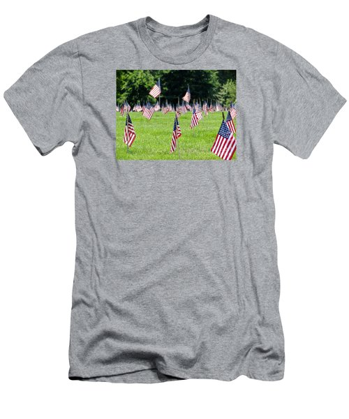 Men's T-Shirt (Slim Fit) featuring the photograph Memorial Day by Ed Weidman