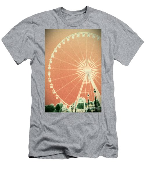 Memories Of Springtime In Paris Men's T-Shirt (Athletic Fit)