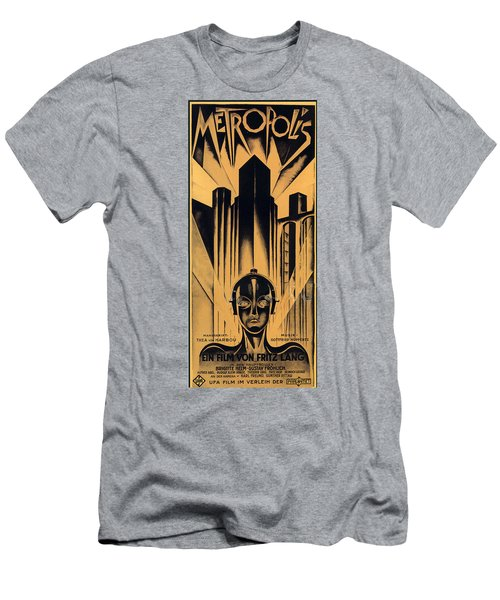 Metropolis Poster Men's T-Shirt (Athletic Fit)