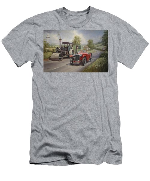 Mg Sports Car. Men's T-Shirt (Athletic Fit)