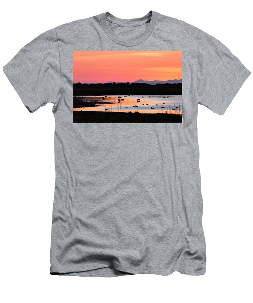 Midnight Sun, Reykjavik, Iceland Men's T-Shirt (Athletic Fit)