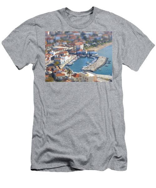 Men's T-Shirt (Slim Fit) featuring the photograph Miniature Port by Vicki Spindler