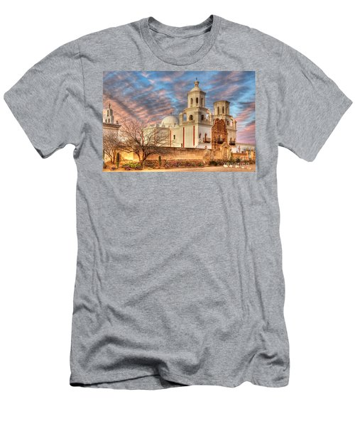 Mission San Xavier Del Bac 2 Men's T-Shirt (Athletic Fit)