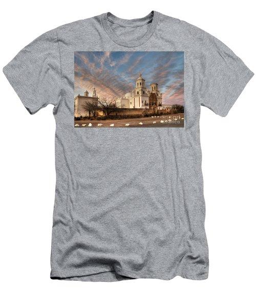 Mission San Xavier Del Bac Men's T-Shirt (Athletic Fit)