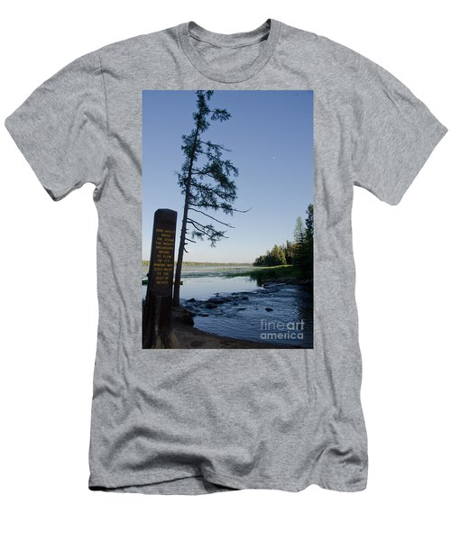 Mississippi Headwaters Men's T-Shirt (Athletic Fit)