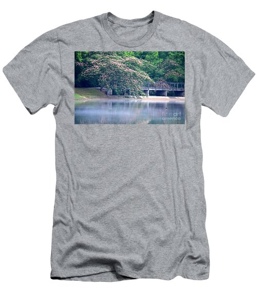 Misty Mimosa Reflections Men's T-Shirt (Athletic Fit)