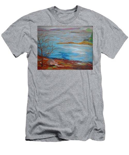 Misty Surry Men's T-Shirt (Slim Fit) by Francine Frank