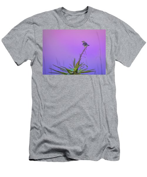 Men's T-Shirt (Slim Fit) featuring the photograph Mocking The Yucca by Rob Sellers