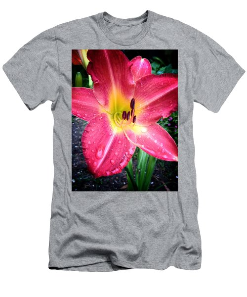 Mom's Secret Garden Men's T-Shirt (Athletic Fit)