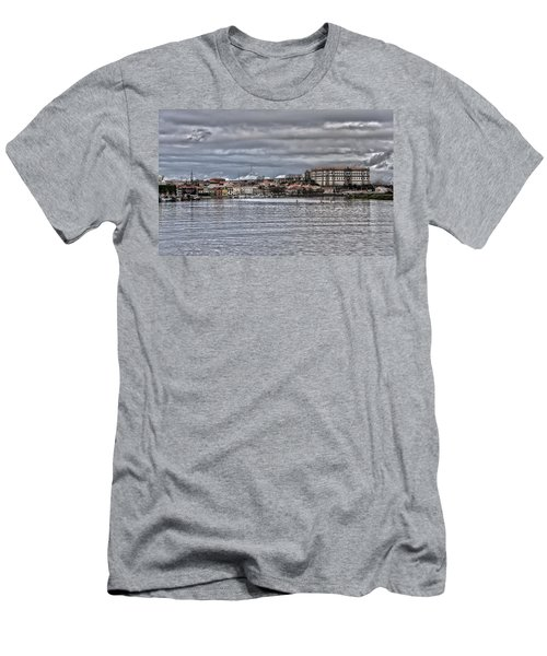 Monastery From The River Men's T-Shirt (Athletic Fit)