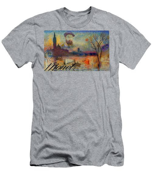 Monet-esque Men's T-Shirt (Athletic Fit)