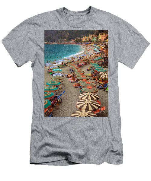 Monterosso Beach Men's T-Shirt (Athletic Fit)