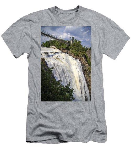 Montmorency Falls Park Quebec City Canada Men's T-Shirt (Athletic Fit)