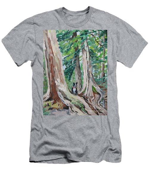 Monty's Travels Men's T-Shirt (Athletic Fit)