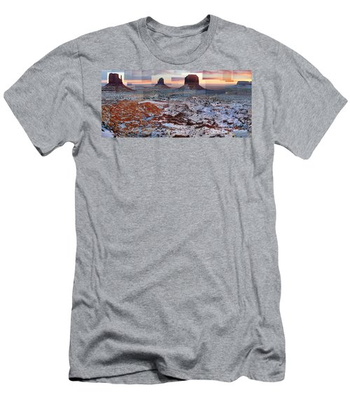 Monument Valley Mittens Men's T-Shirt (Athletic Fit)