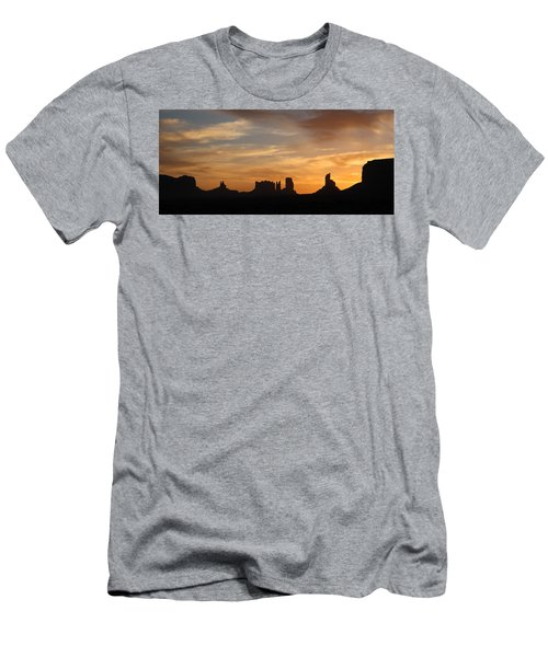 Monument Valley Sunrise Men's T-Shirt (Athletic Fit)