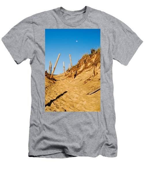 Moon And Dunes Men's T-Shirt (Athletic Fit)