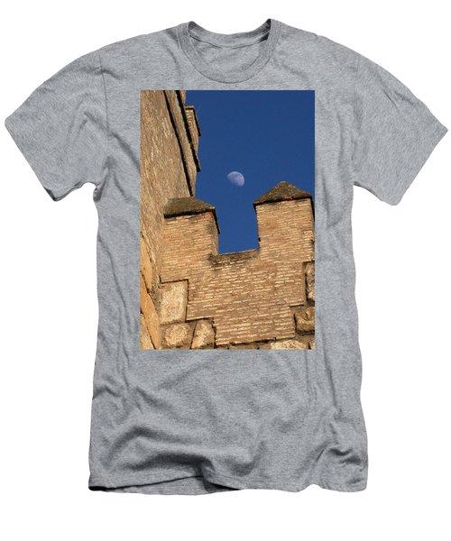 Moon Over Alcazar Men's T-Shirt (Athletic Fit)