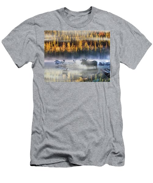 Moose Lake Men's T-Shirt (Athletic Fit)
