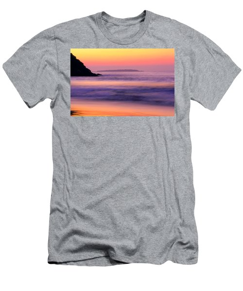 Morning Dream Singing Beach Men's T-Shirt (Athletic Fit)