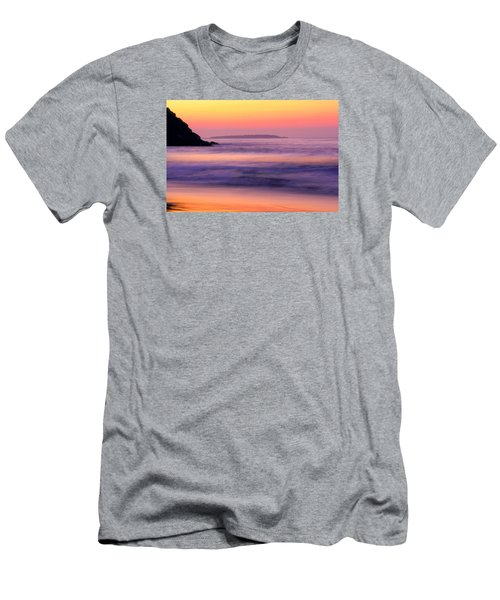 Morning Dream Singing Beach Men's T-Shirt (Athletic Fit)