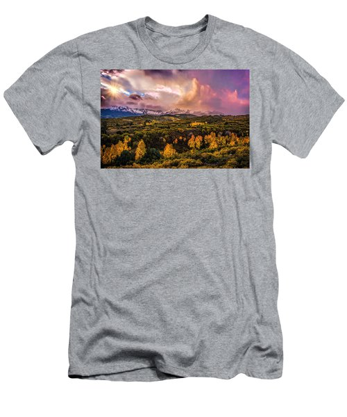 Men's T-Shirt (Slim Fit) featuring the photograph Morning Glory by Ken Smith