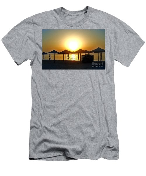 Morning In Greece Men's T-Shirt (Athletic Fit)