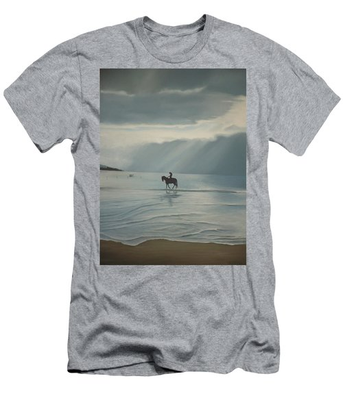 Morning Ride Men's T-Shirt (Athletic Fit)