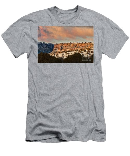 Morning Sun On The Ridge Men's T-Shirt (Athletic Fit)