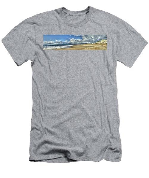 Moss Landing After The Rain 2 Men's T-Shirt (Athletic Fit)