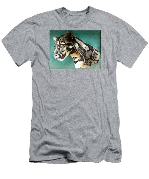 Most Elegant Leopard Men's T-Shirt (Athletic Fit)