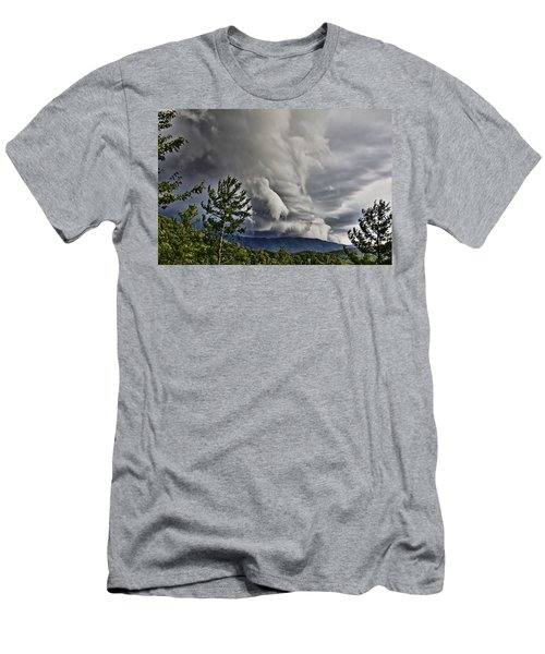 Mother Nature Showing Off V2 Men's T-Shirt (Athletic Fit)