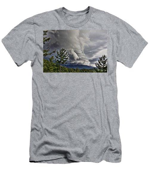 Mother Nature Showing Off V2 Men's T-Shirt (Slim Fit) by Tom Culver